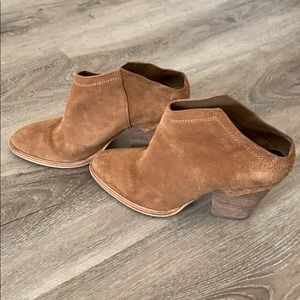 Backless Dolce Vita Suede Booties